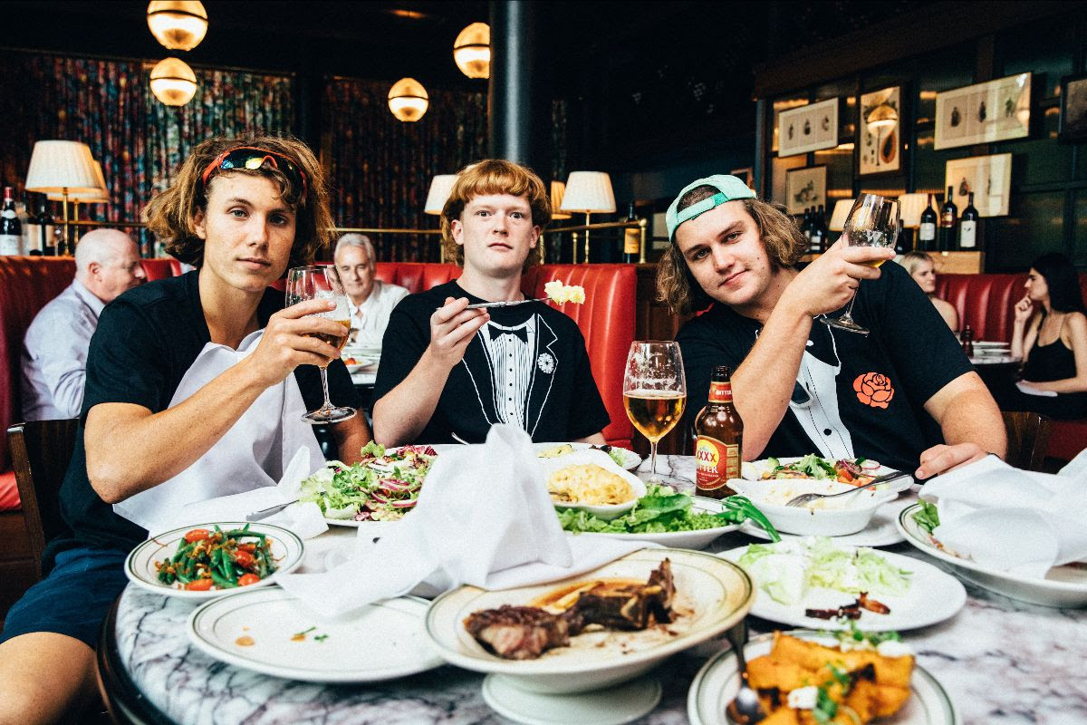 "The Chats release video for ""Dine N Dash"""