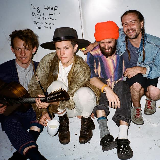 Big Thief have released Demos Vol. 1 - Topanga Canyon, CA - Feb 2018