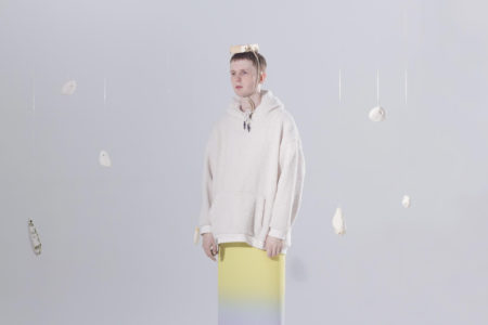 "Iglooghost, has shared a new video for his latest single ""Amu."