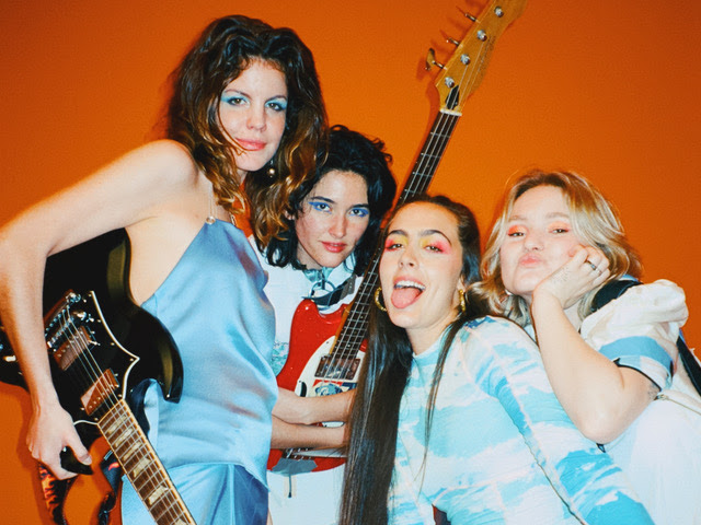 "Madrid-based quartet Hinds, have shared a new video ""Just Like Kids (Miau)"""