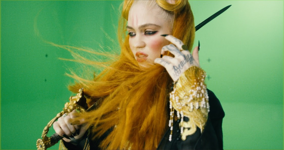 """Grimes has released a new video for """"You'll Miss Me When I'm Not Around,"""