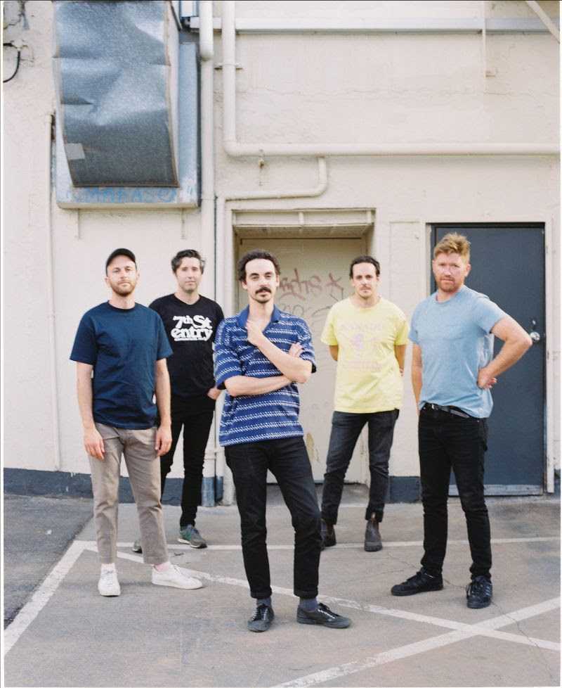 "Rolling Blackouts Coastal Fever Release New Single/Video ""Falling Thunder."""