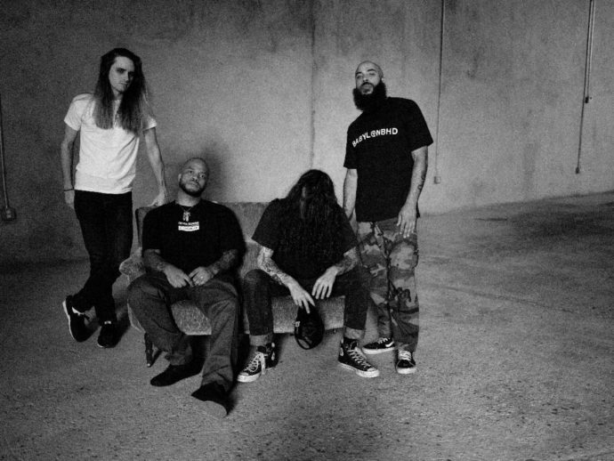 Trash Talk have revealed their new album Squalor, will come out on out June 5th.