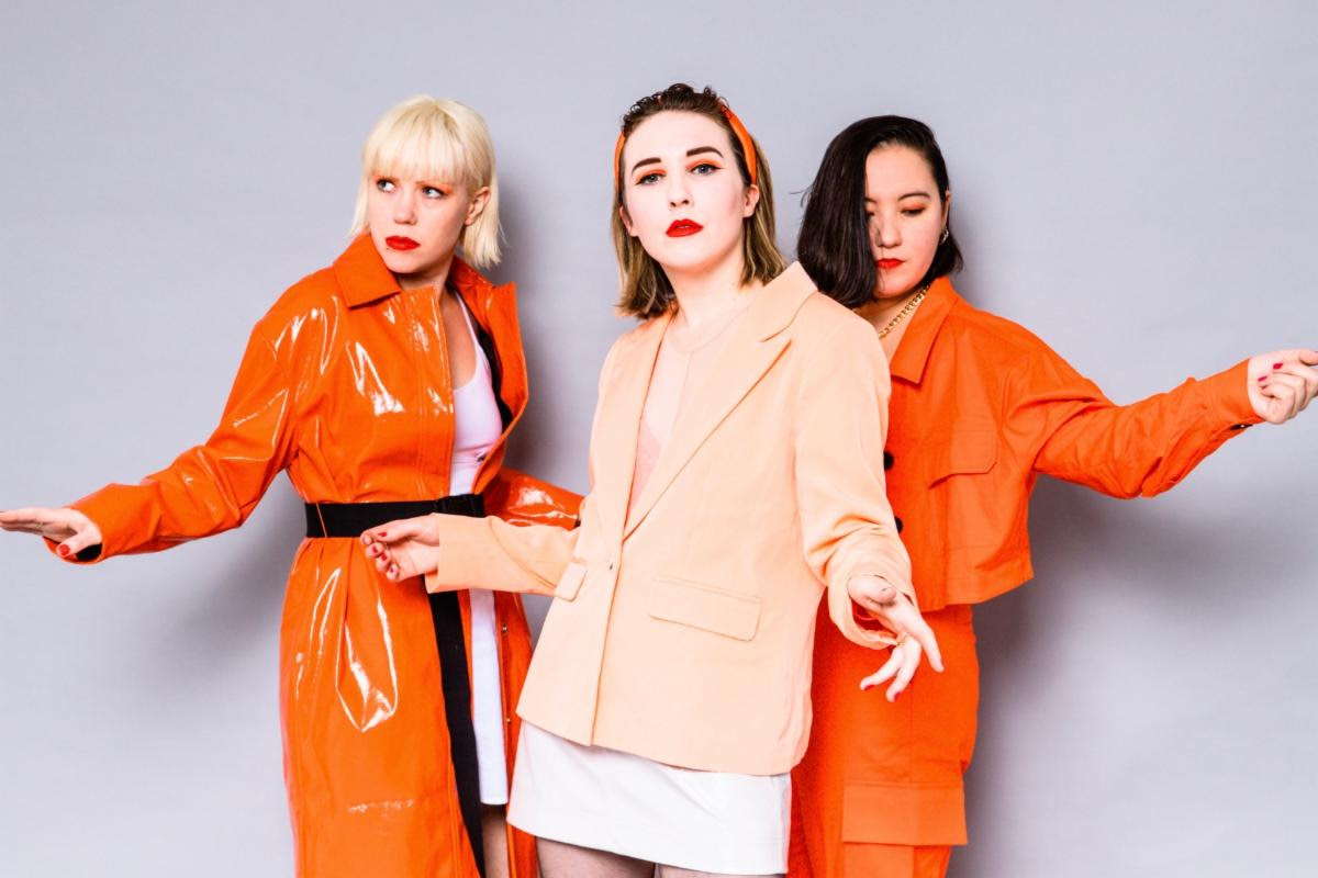 """Ghosting"" by Pins is Northern Transmissions Song of the Day. The track is oof the UK post-punk trio's current release Hot Slick"