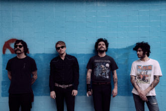 """Rey Pila have shared their new single """"Casting A Shadow."""" The track is off their Dave Sitek's produced album Velox Veritas, out August 21, via Arts & Crafts"""