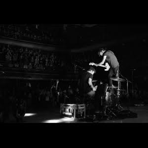 Massey Fucking Hall by Japandroids album review by Leslie Chu. The duo'd ful-length comes out on June 19th via Anti/Arts & Crafts Records