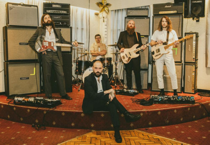 IDLES will release their new album Ultra Mono on June 25th via Partisan Records (Fontaines DC). Along with today's announcement, the band have shared
