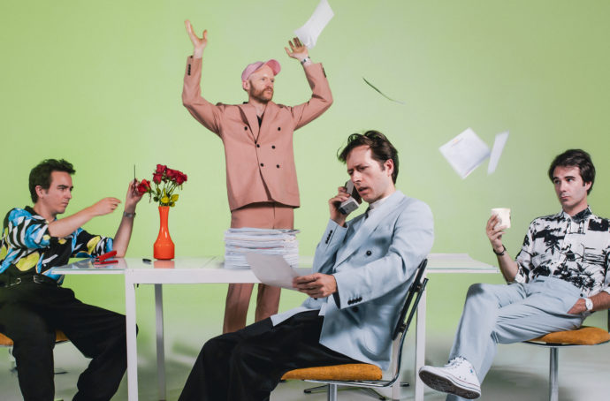 "British band PREP, have released their new single ""On and On."" Along with the new single, the quartet will release their self-titled debut on October 30th"