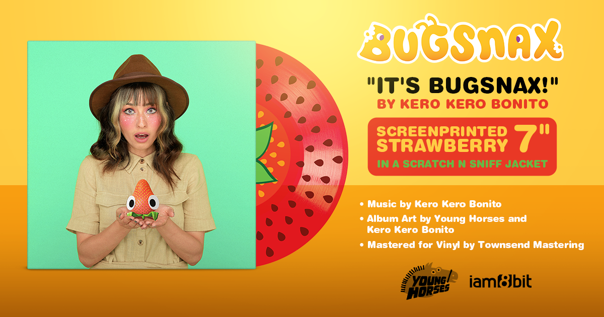 "Gaming's song of the summer, is entitled ""It's Bugsnax!"" by Kero Kero Bonito. The track is out today via digital music platforms and streaming services"