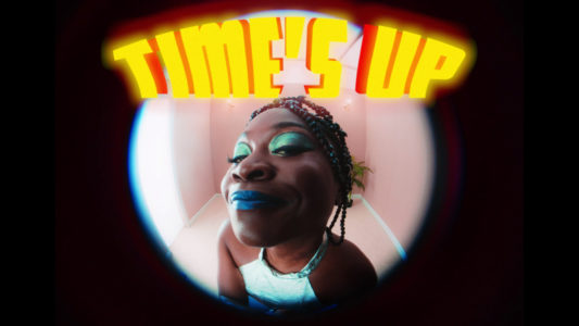 "Sampa The Great has partnered with Sanjay De Silva (director of 'The Return - A Short Film', 'Final Form') for a new video entitled ""Times Up"""