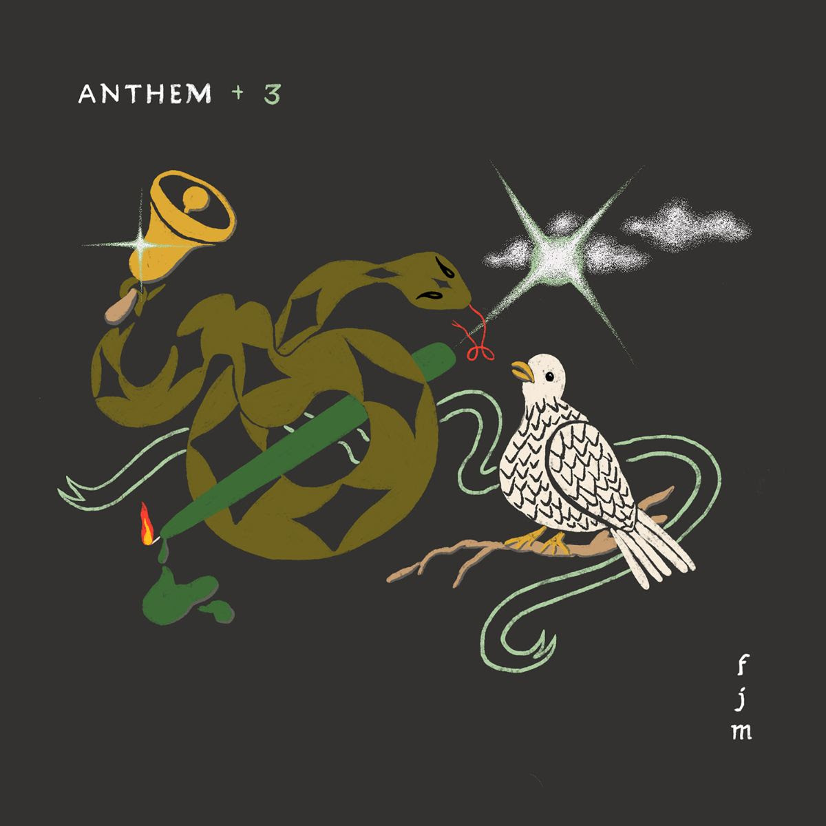 Father John Misty is releasing Anthem +3 is a digital EP featuring covers of Leonard Cohen, Yusuf/Cat Stevens, and Link Wray, that will be available July 3