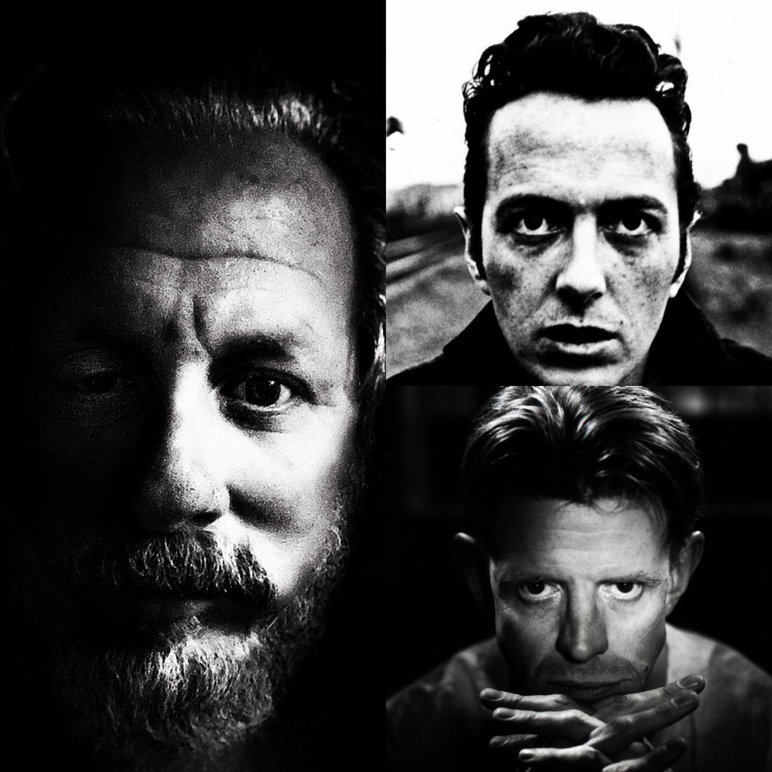 Zander Schloss, Joe Strummer, Alex Cox