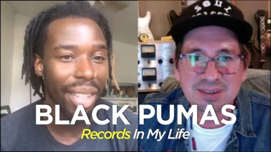 Black Pumas guest on Records In My Life