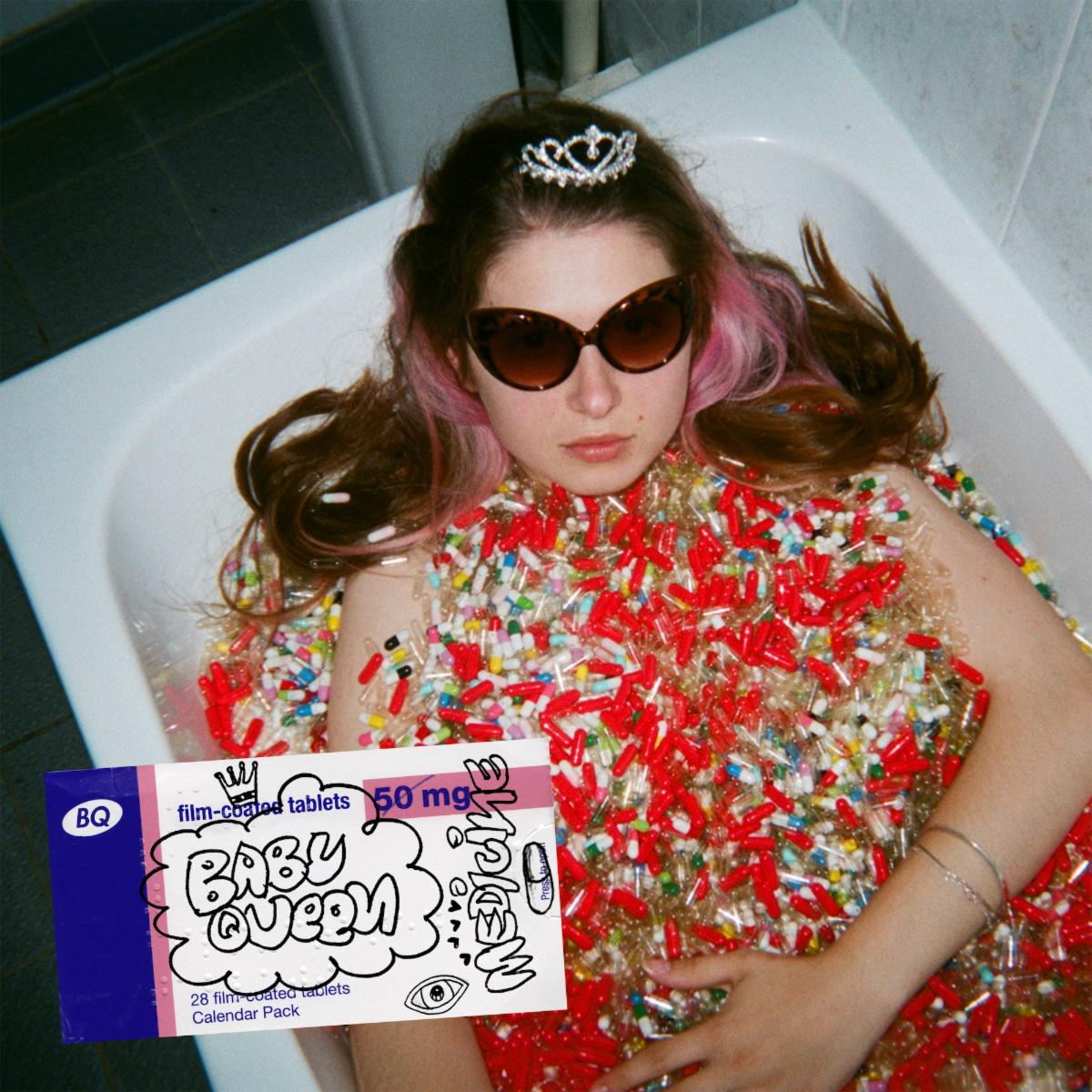 """""""Medicine"""" by Baby Queen is Northern Transmissions Song of the Day. The track is off the UK artist's forthcoming EP, and now available via Polydor"""