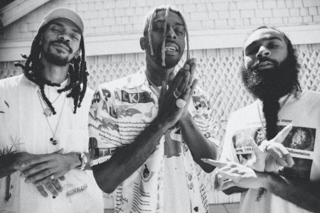 "Flatbush Zombies drop a new song ""Afterlife"", produced by James Blake. Erick the Architect initially connected with James Blake via Twitter after hearing"