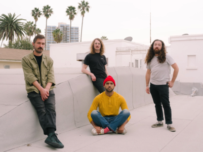 "Long Beach, Cali band Drugs release their debut LP, Episodic, August 7 on Park The Van. Today, the quartet has shared album single ""A Twist Of The Stomach"""