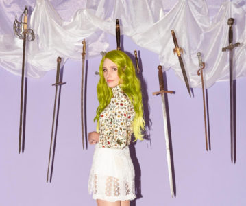 """Sadie Dupuis AKA: Sad13, releases her self-produced solo album next month via Wax 9. Ahead of the LP's release, she has shared the video/singe """"Hysterical."""