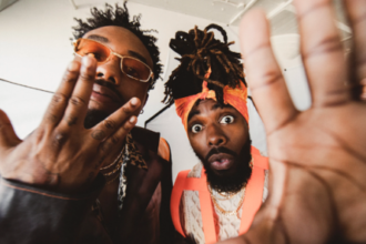 "EarthGang continue to create unique tracks and visuals. The pair premiered the video for track ""Top Down"" on Adult Swim early Sunday morning"