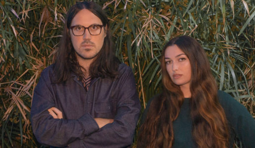 "Madeline Follin and Brian Oblivion, AKA: Cults have released ""No Risk,"" a track off their forthcoming release Host out September 18 via Sinderlyn."