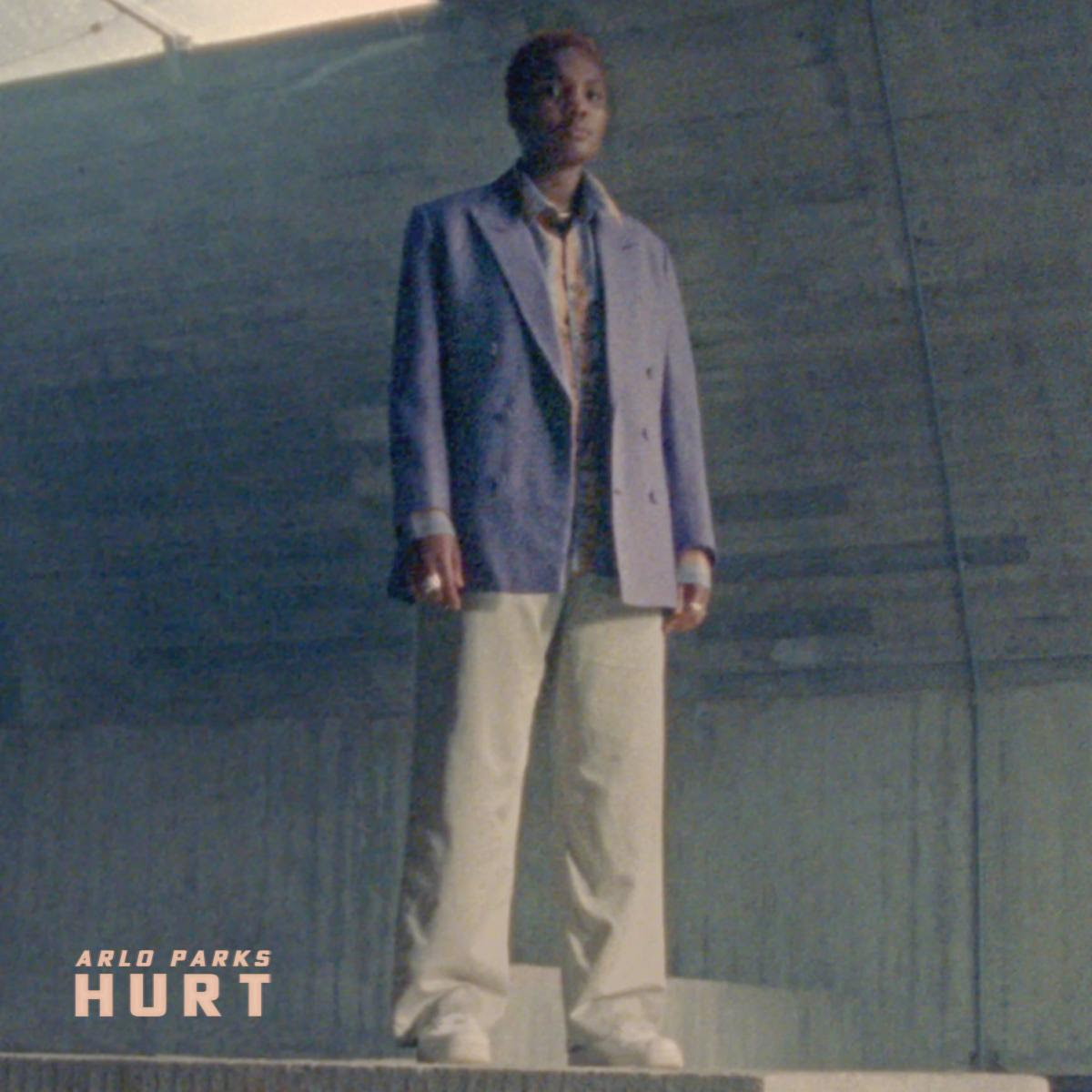 """Arlo Parks is sharing a new song and video """"Hurt."""" The track is now available via Transgressive, accompanied by a video directed by Molly Burdett"""