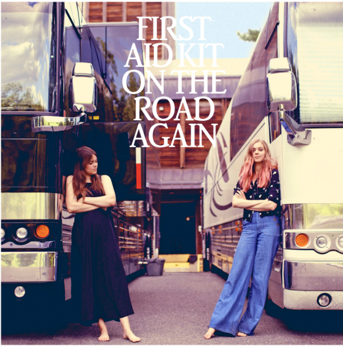 "First Aid Kit have shared a cover of Willie Nelson's classic ""On The Road Again"" today, accompanied by a homemade tour video."