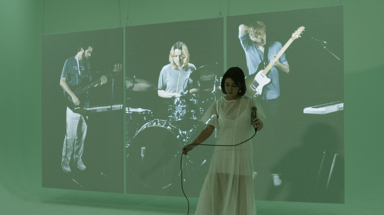 """""""My Palms Are Your Reference To Hold Your Heart"""" by Yumi Zouma is Northern Transmissions Song of the Day. The track is now out via Polyvinyl"""