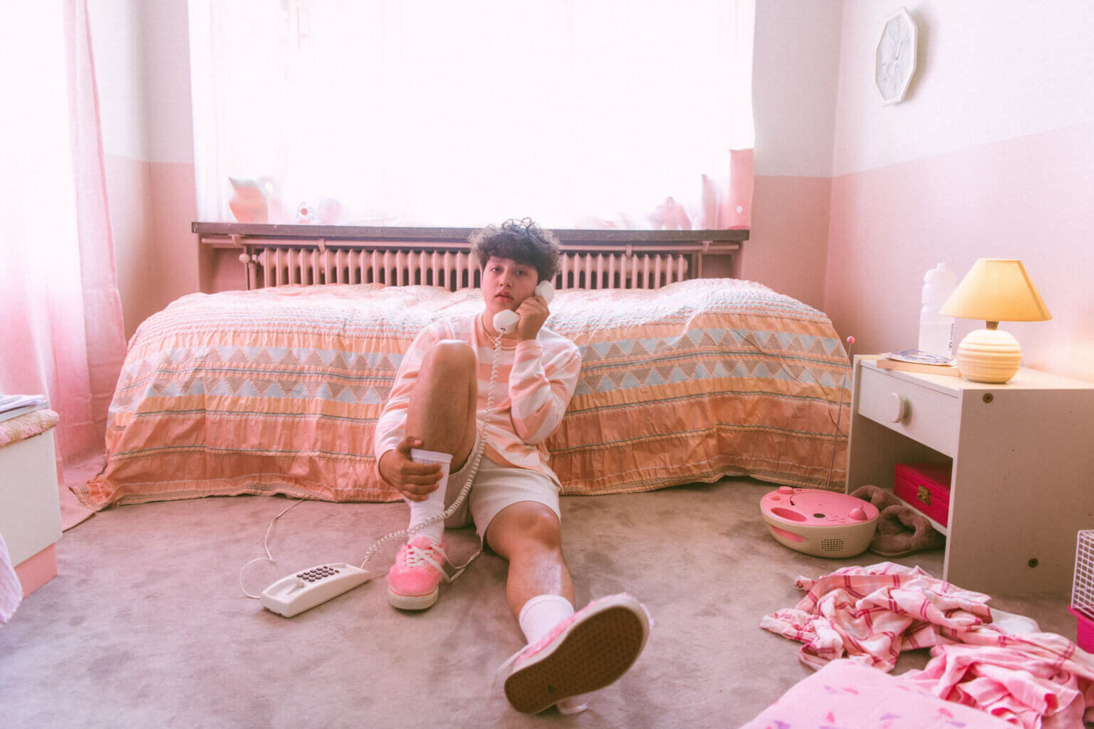 "Boy Pablo has shared ""Leave Me Alone."" The single is off his his debut album Wachito Rico,"
