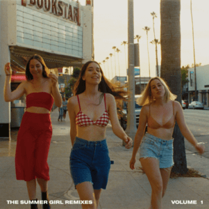 HAIM have released 'The Summer Girl Remixes Volume 1' today via Columbia Records. The remix bundle features remixes