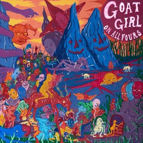 Goat Girl will release their new full-length On All Fours, via Rough Trade Records on January 29, 2021. The new album was produced by