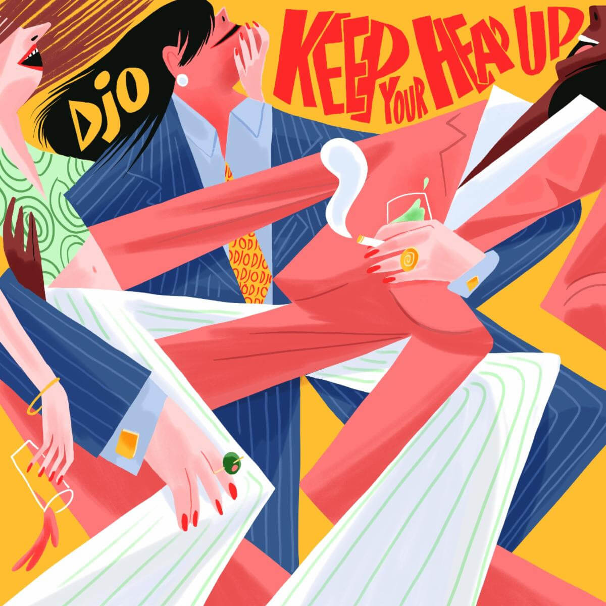 "Musician/actor Joe Keery (Stranger Things) solo project Djo has returned with his new single ""Keep Your Head Up"""