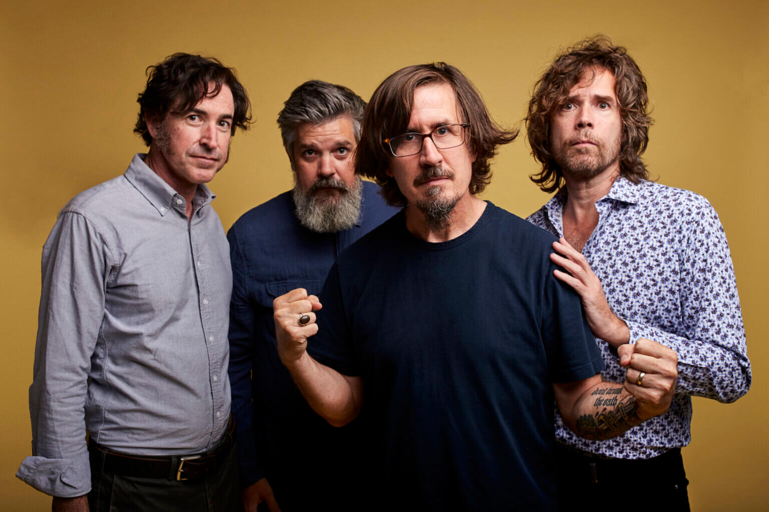 "The Mountain Goats have shared their latest single ""Get Famous."" The track is off the Merge band's forthcoming LP Getting Into Knives"