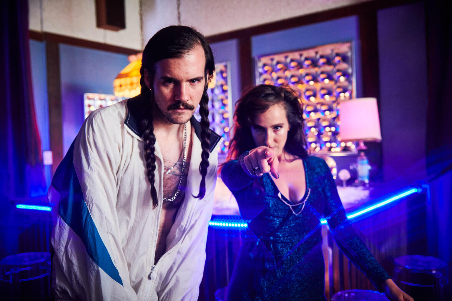 """Los Angeles duo Cobra Man, have released a new video for their new single """"Heatwave."""" The song, released with perfect timing, was written"""