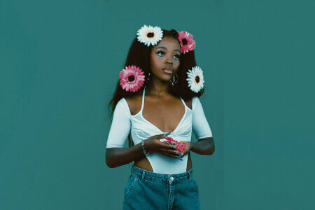 """Tkay Maidza has dropped a new video for """"24k."""" The video, directed by Nicholas Muecke, is off Tkay's new EP Last Year Was Weird, Vol. 2, which is out now on 4AD"""