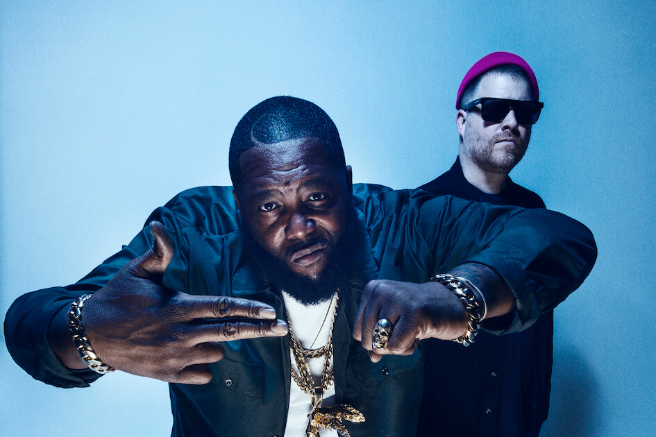 "Run The Jewels, comprised of El-P and Killer Mike, have dropped a new video for ""yankee and the brave (ep. 4)"""