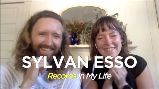 Sylvan Esso members Nick Sanborn and Amelia Meath guested on the October 19, 2020 edition of Records In My Life