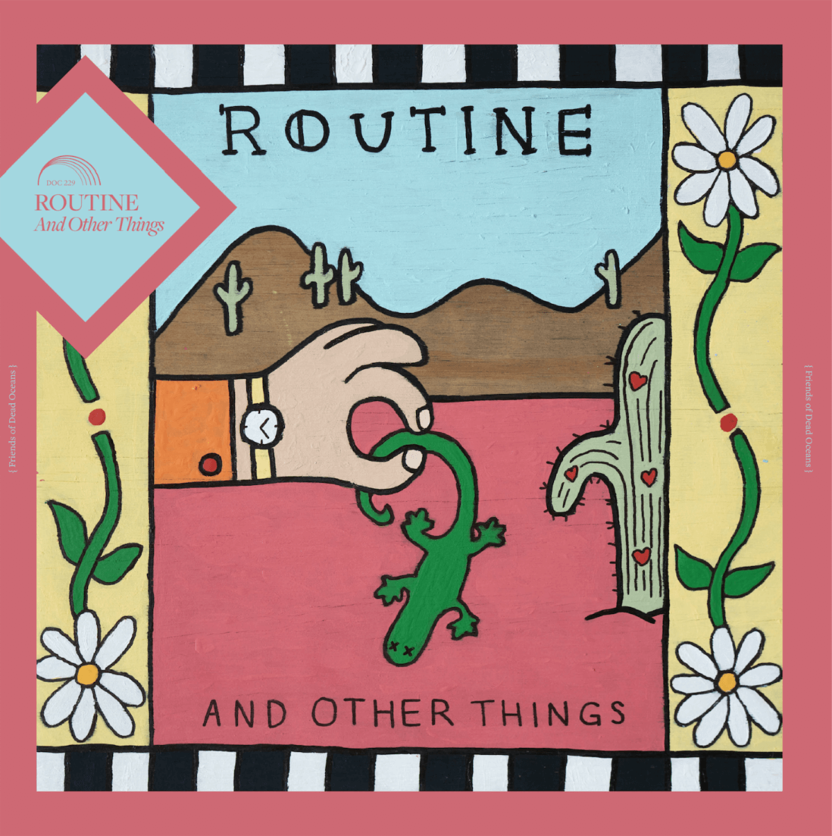 """Cady Road"" by Routine is Northern Transmissions Song of the Day. The track is off the duo's forthcoming release Other Things"