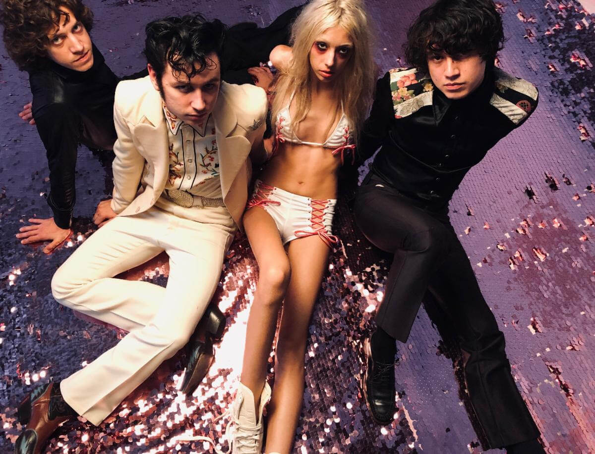 "Starcrawler has announced their brand new live single ""Lizzy"" b/w ""Bet My Brains,"" will be available on vinyl from Third Man/Rough Trade"