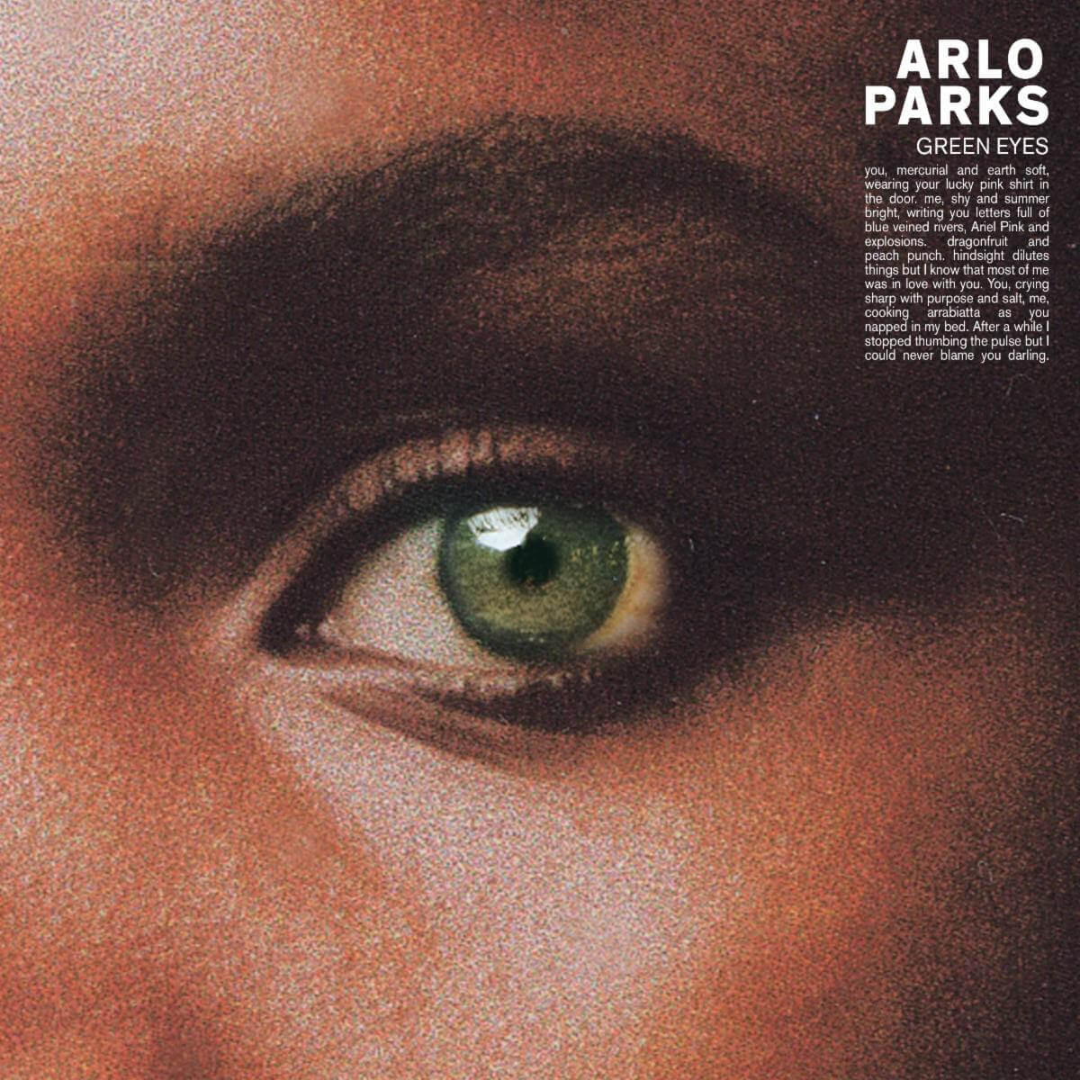 """Arlo Parks announces debut album Collapsed In Sunbeams, shares new single """"Green Eyes."""" The LP comes out on January 29th via Transgressive"""