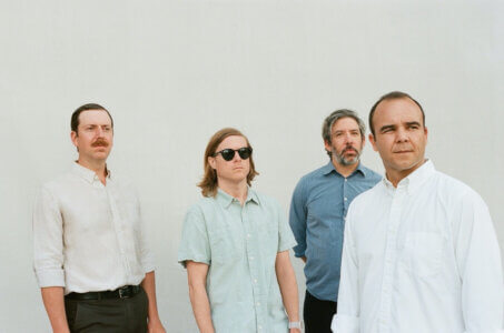"Future Islands have shared a new single ""Born In A War"" alongside a animated video created by artist Wayne White and his son Woodrow White"