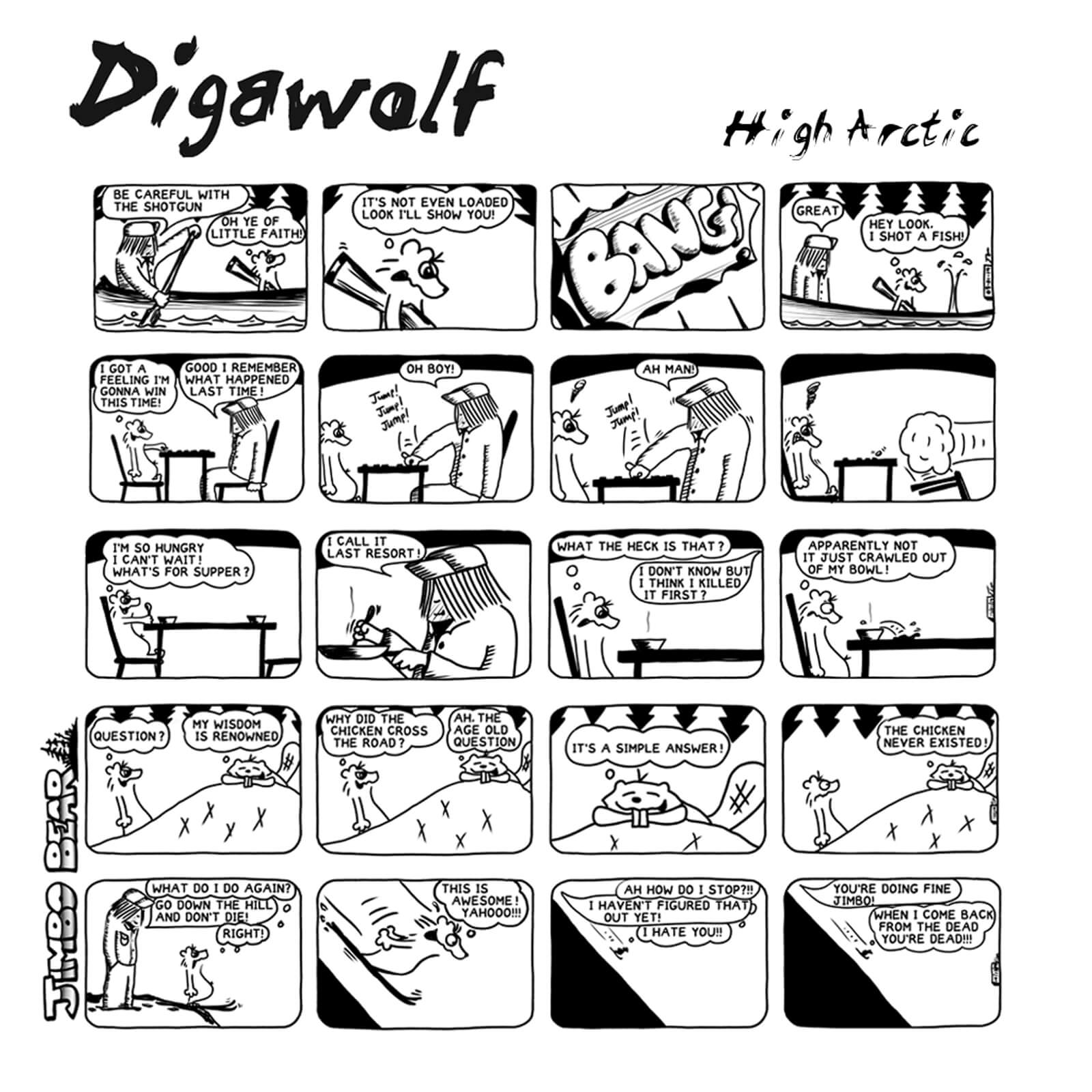 High Arctic by Digawolf album review by Steven Ovadia. The Canadian artist's new release is now available via streaming services