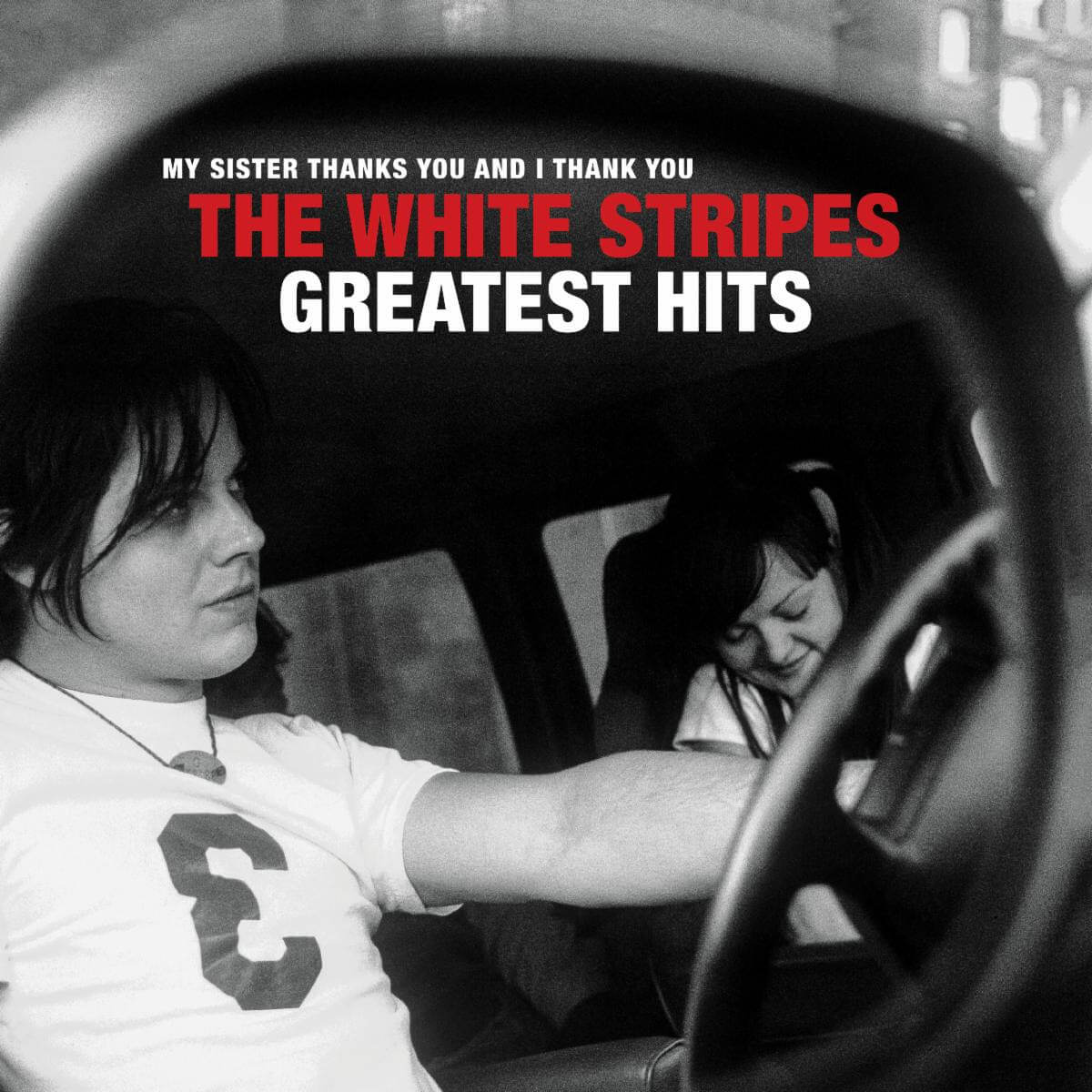 The White Stripes Greatest Hits album review by Leslie Chu. The duo's 26 song anthology comes out on December 4th, via Third Man/Columbia