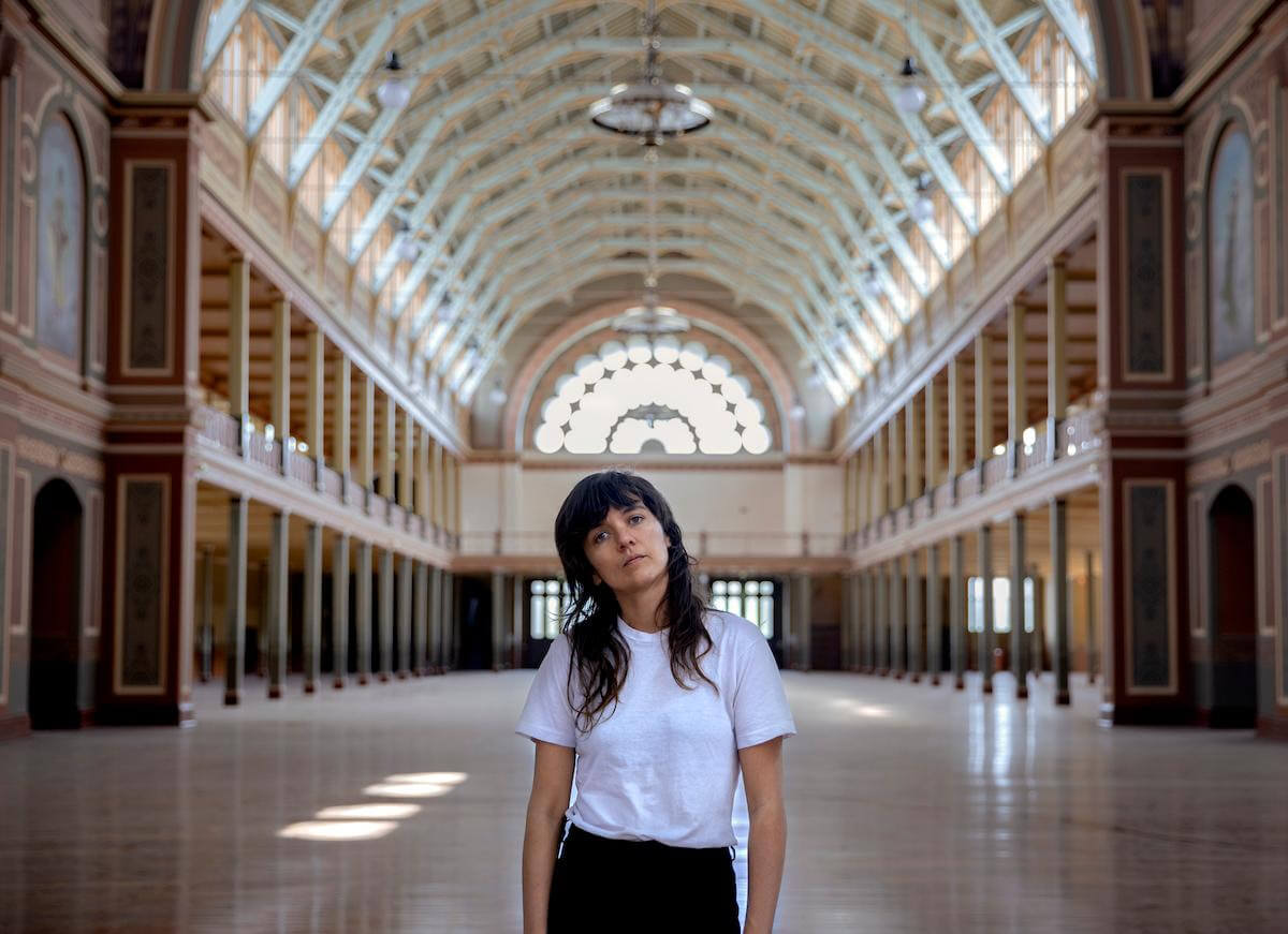 Courtney Barnett Announces Global Livestream From Where I'm Standing: Live from the Royal Exhibition Building, Melbourne