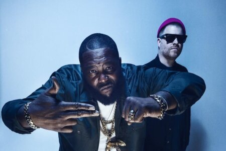 "Run The Jewels have teamed up with Royal Blood for a speaker-shredding new version of ""the ground below"" is now available to stream"