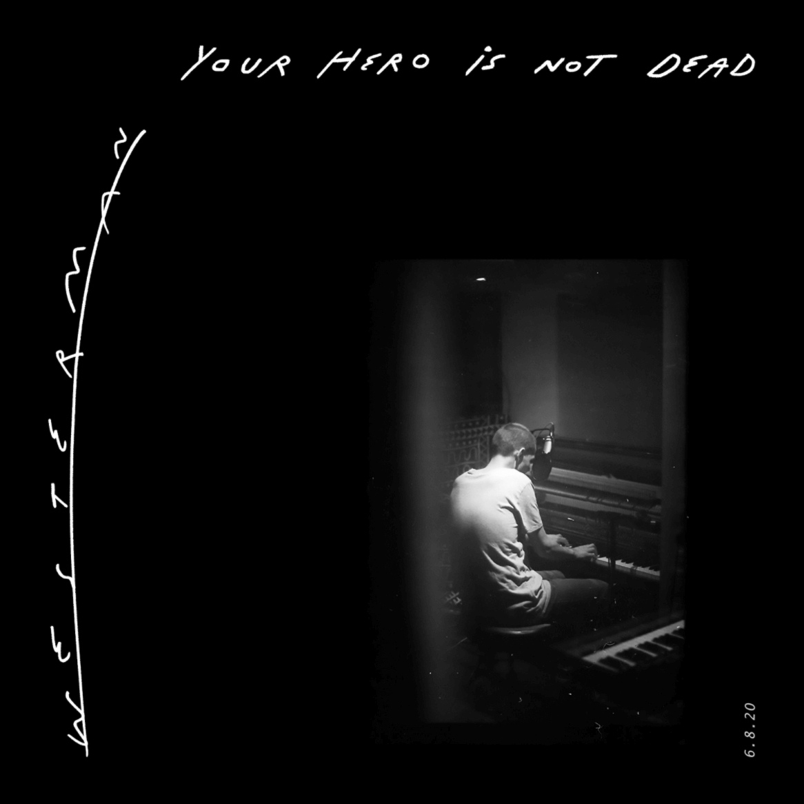 """Westerman shares """"Your Hero Is Not Dead (Unaccompanied)."""" The track is off his LP Your Hero Is Not Dead, out via Partisan/play It Again Sam"""