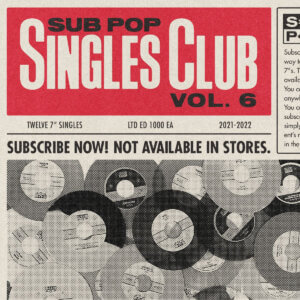 TEKE::TEKE and SUMAC have shared their contributions to the Sub Pop Singles Club Vol. 5, which are available now for the first time to stream