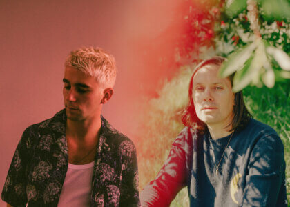 """SG Lewis and Rhye collaboraye on new single """"Time."""" The track is off SG Lewis' forthcoming release times, available February 19th via Republic"""