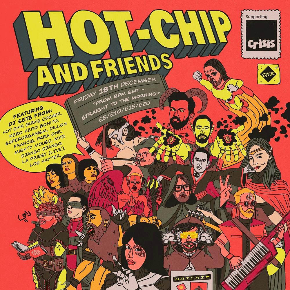 Hot Chip Announce Charity Stream On December 18th, with DJ sets from Jarvis Cocker, Superorganism, Kero Kero Bonito and more