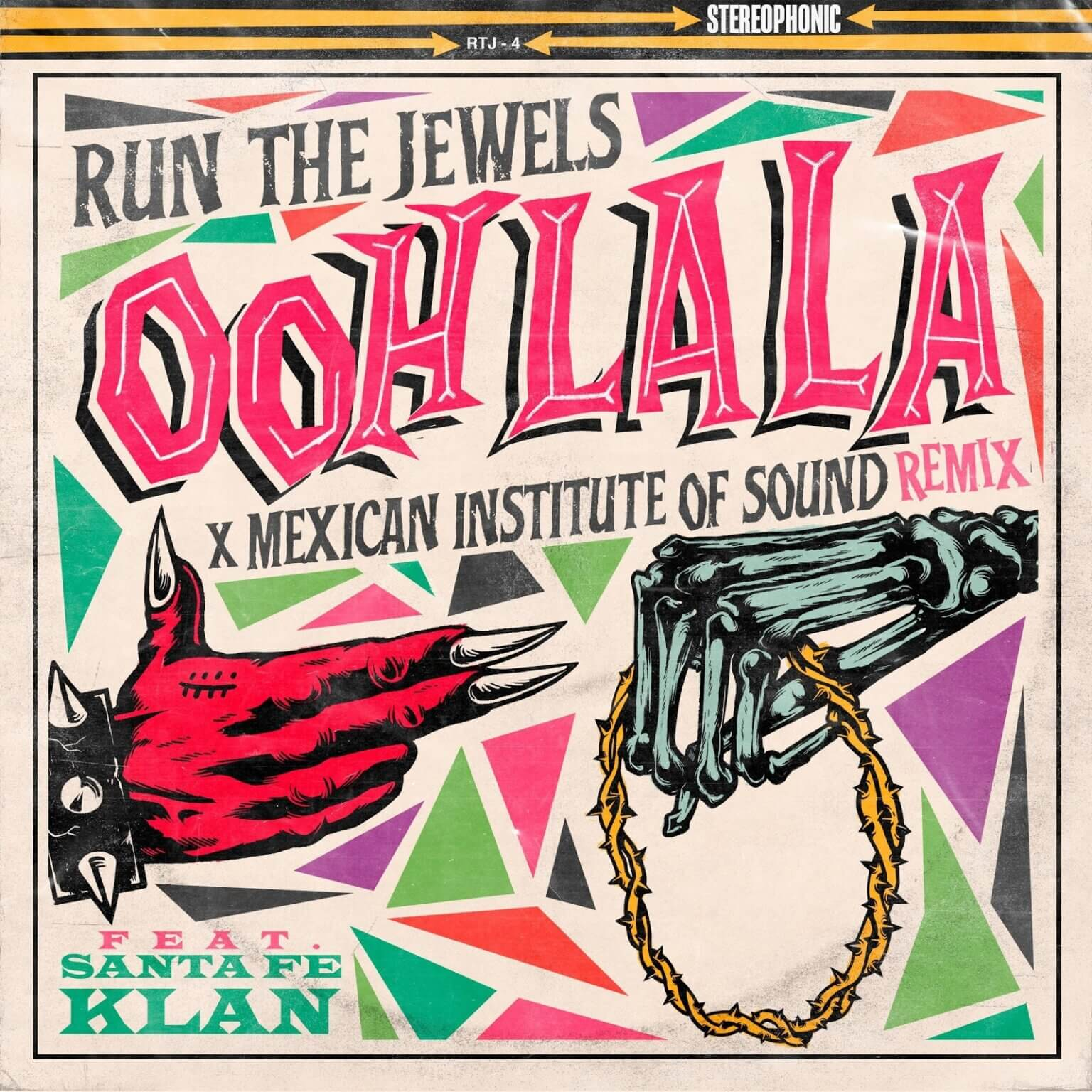 """Run The Jewels have shared a remix of the RTJ4 single """"ooh la la"""" by Mexican Institute of Sound"""