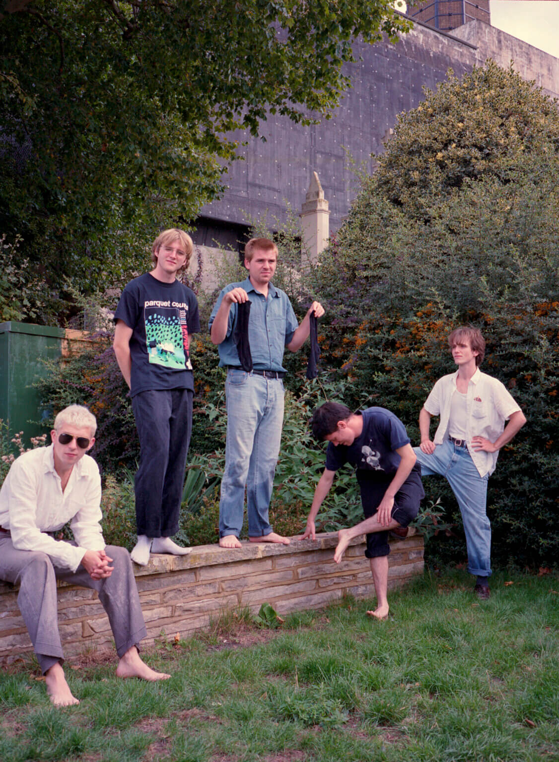 """UK quintet shame have released """"Nigel Hitter,"""" the latest single/video, off their forthcoming album, Drunk Tank Pink, available January 15th"""