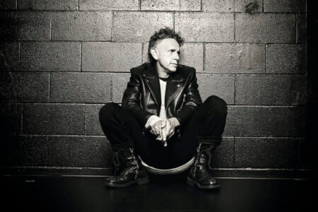 "Martin Gore Debuts New Single ""Howler."" The track is off the Depeche Mode member's forthcoming solo release The Third Chimpanzee"